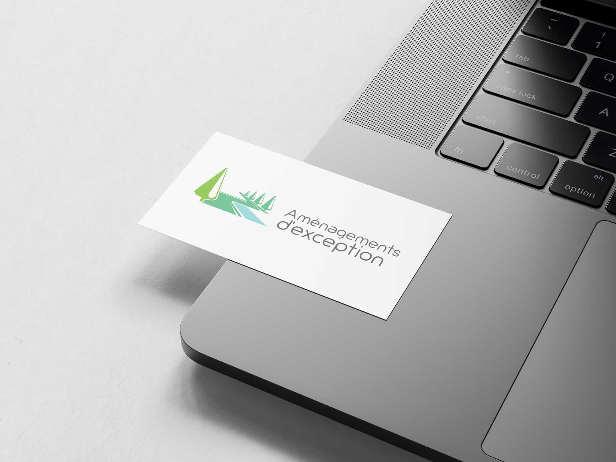 Aménagements d'exception | Création du logo | LD Media