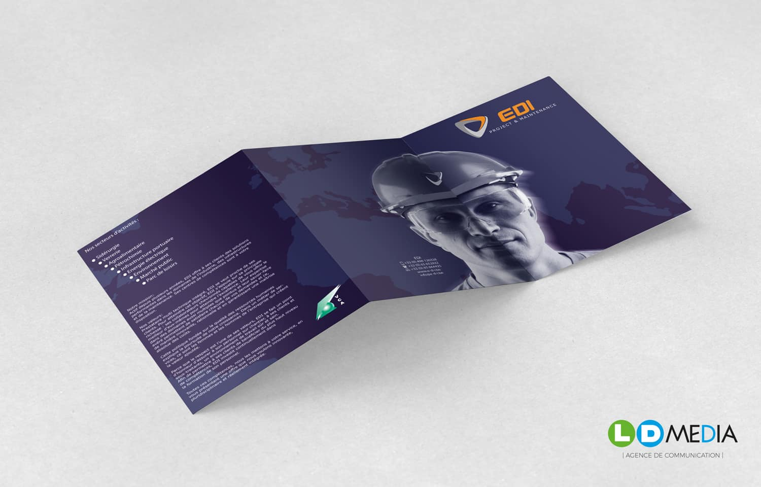 LD Media | Conception & impression de brochures E.D.I.