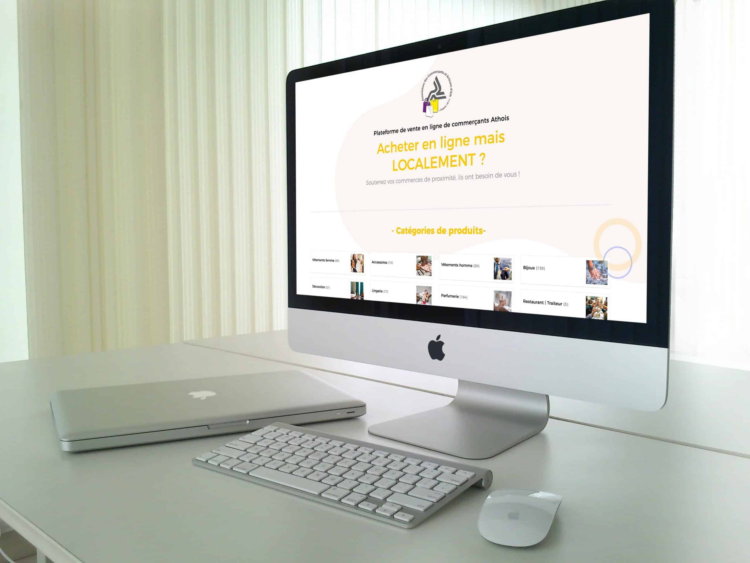 LD Media - Agence de communication   Shopping-Ath.be